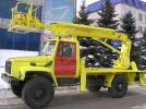 Автовышка АПТ-14 на шасси ГАЗ-33081